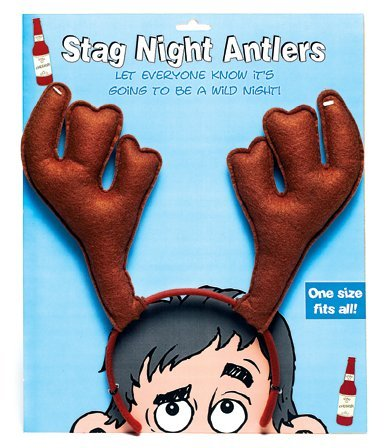 Stag Night Antlers by Boxer Gifts