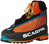 Scarpa Phantom Tech Mountaineering Boot, Black/Orange, 41 EU/8 M US