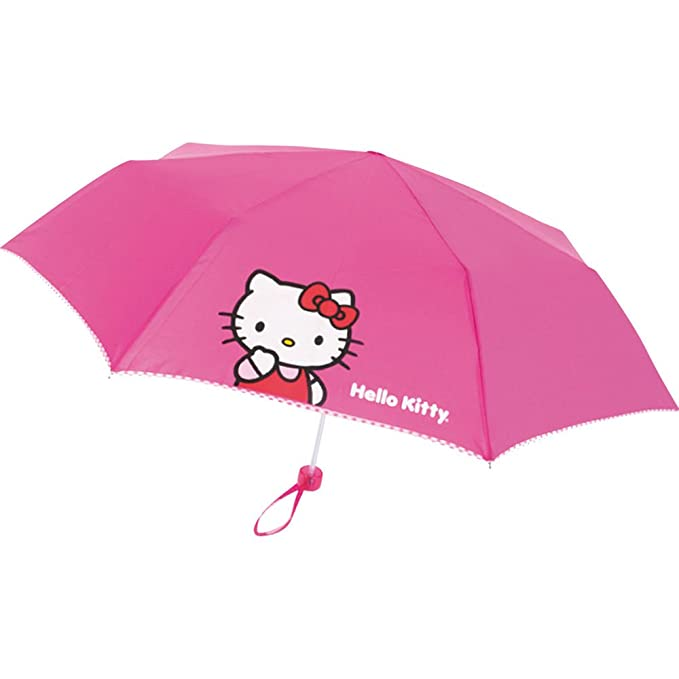 Paraguas plegable Hello Kitty 53cm