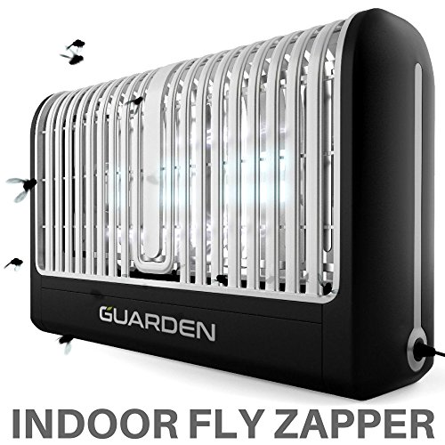 Guarden Fly Trap Indoor Bug Zapper - Eliminate Flies, Wasps and Bugs with this Plug In Flying Insect Killer - 2018 Powerful Home Pest Control Bug Zap Traps