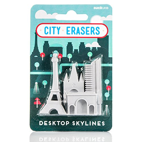 Suck UK City Erasers - Paris (SK ERASERPAR1) (Architecture Eraser)