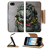 imperial armband iphone 5 - Liili Premium Apple iPhone 5 iphone 5S Flip Pu Leather Wallet Case Green stone lion statue 28622413