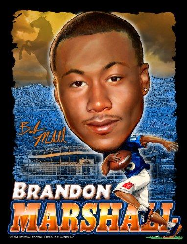 Brandon Marshall - NFL Players Licensed Art Print