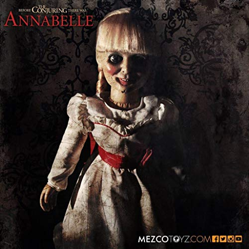 Possessed Baby Halloween Costume (Mezco Toyz Annabelle Prop Replica Doll)