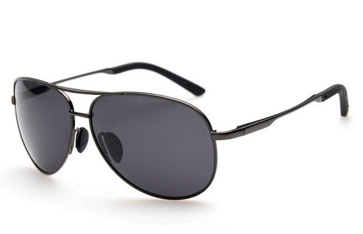 SHULING Sonnenbrille Männer Polarisierte Sonnenbrillen Spiegel Kröte Retro Sonnenbrille Driver Spiegel