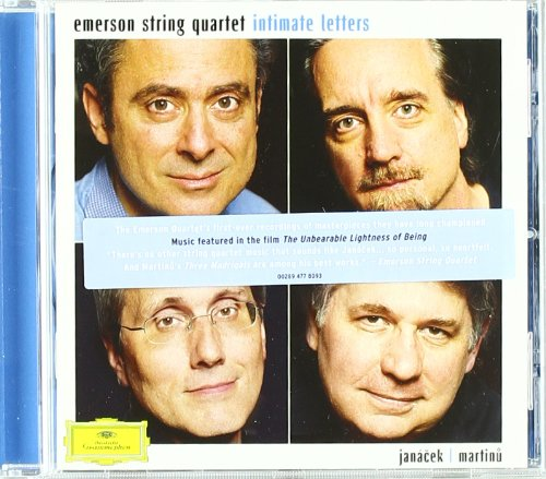 Quartet Letter ('Intimate Letters' (Janacek & Martinu))
