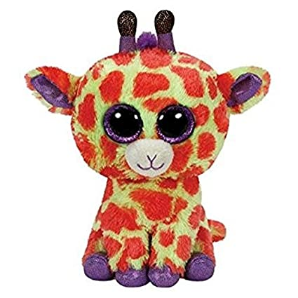 3f9698ada90 Image Unavailable. Image not available for. Color  Ty Beanie Boos Darci -  Giraffe ...