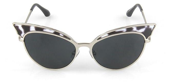 23025d8f9e5 GAMT Trend Retro Sexy Cat Eye Sunglasses Yurt Sun Glasses Silver Frame  Grey  Amazon.co.uk  Clothing
