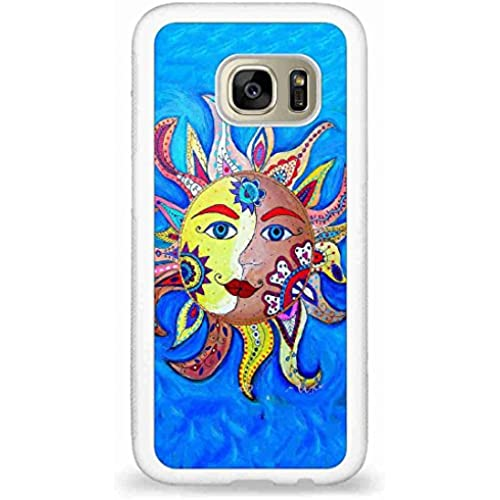 Customized The sun and the moon back phone cases for Samsung Galaxy S7 Sales