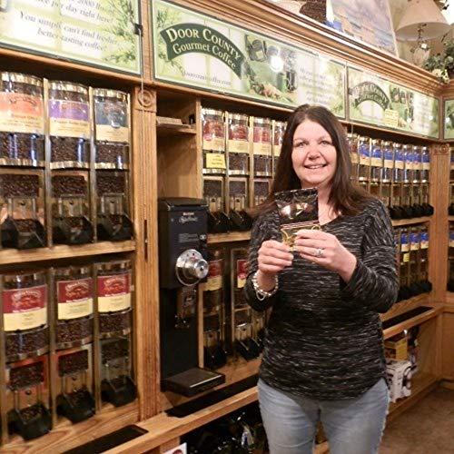 Door County Coffee, Cinnamon Hazelnut, Ground, 1.5oz Full-Pot Bag by Door County Coffee & Tea Co. (Image #1)
