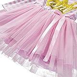 Baby Girls Shinny Striped 1st/2nd/3rd Birthday Long