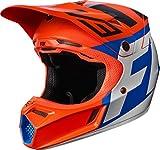 Fox Racing Creo Youth V3 Motocross Motorcycle Helmets - Orange / Medium