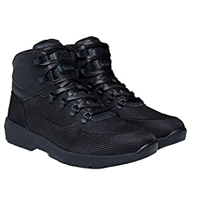 Timberland Mens Westford Mid Emboss Hiking Boot Black Size 11.5
