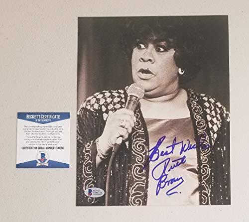 """Soul R&B Legend - Ruth Brown signed autographed 8""""X10"""" photo certified authentic with Beckett certificate of authenticity"""