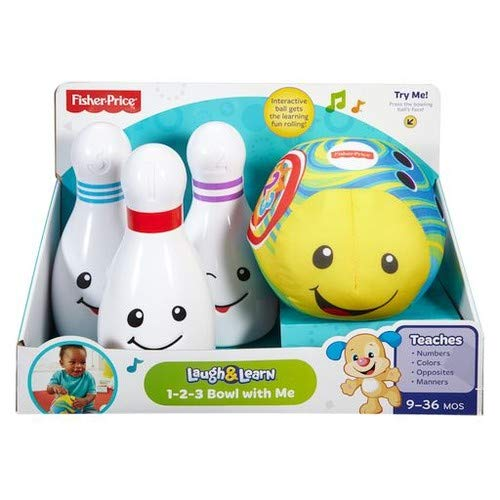 Fisher-Price Laugh & Learn 1-2-3 Bowl with Me -
