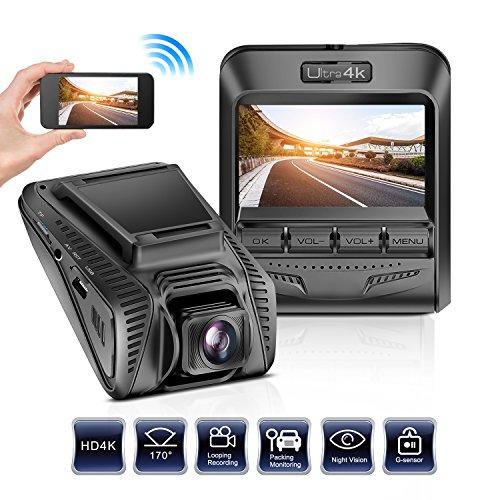 promotion leadtry 4k uhd wifi car dash cam 2 4 lcd 6. Black Bedroom Furniture Sets. Home Design Ideas