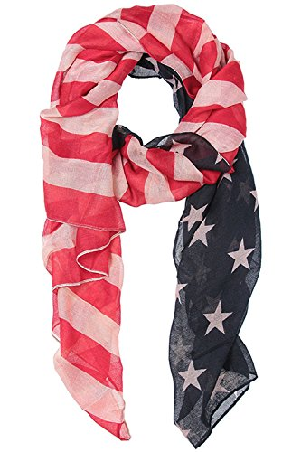 Vintage Costume Jewelry Nyc (TRENDY FASHION JEWELRY AMERICAN FLAG SCARF BY FASHION DESTINATION)