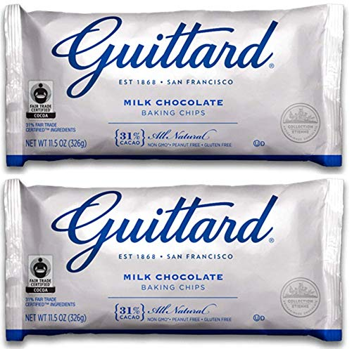 Guittard Choc Chip Mlk Choc Maxi - Pack of 2