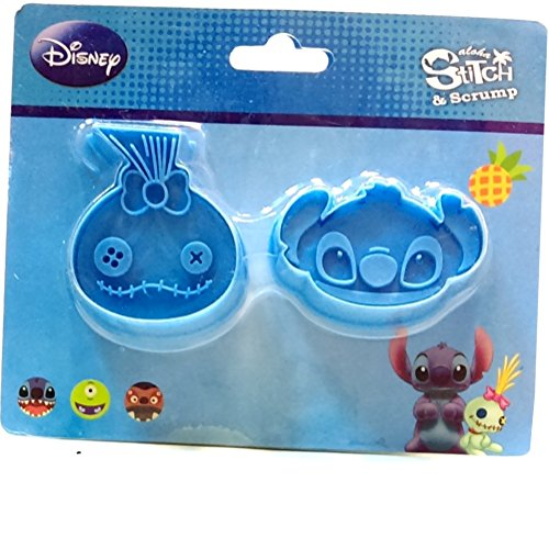Disney Stitch Scrump Cookie Molds Cutters Stampers Set (Disney Cupcake Maker compare prices)