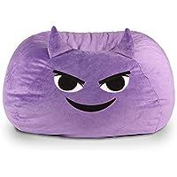 GoMoji Emoji Mischief Bean Bag Chair