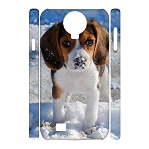 WINDFC Beagle Phone 3D Case For Samsung Galaxy S4 i9500 [Pattern-1]