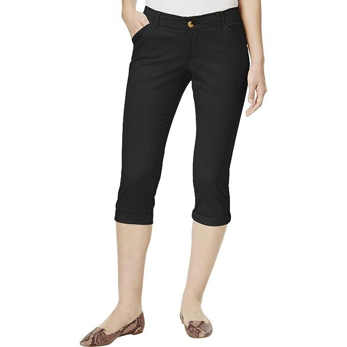 46cd836ed2dcd LEE Platinum Petite Chino Cropped Pants at Amazon Women s Clothing ...