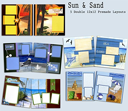 sun-sand-scrapbook-kit-5-double-page-layouts