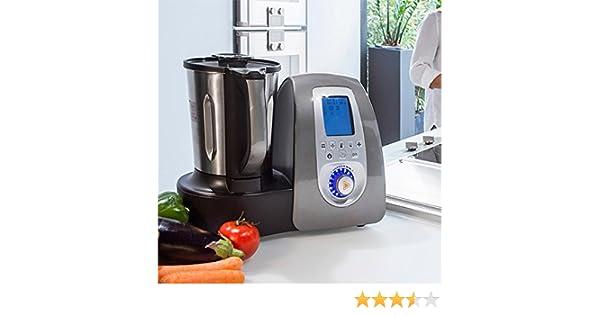 Cecomix C04010 Robot de cocina multifunción, 1500 W, 3.3 litros, PU|Acero Inoxidable, Plata: Amazon.es: Hogar