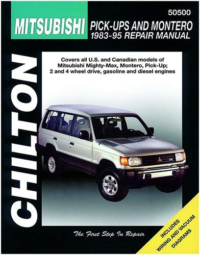 Chilton Mitsubishi Pick-Ups and Montero 1983-1995 Repair Manual (50500)