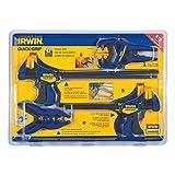 IRWIN Tools QUICK-GRIP Clamp Set, 8 Piece, 4935502