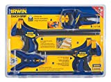 IRWIN Tools QUICK-GRIP Clamp Set, 8 Piece, 4935502 (Discontinued)