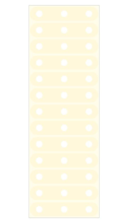 Filofax - Mini pegatinas de refuerzo para hojas de archivador: Amazon.es: Oficina y papelería