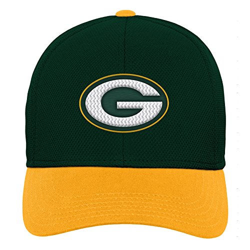 Outerstuff NFL NFL Green Bay Packers Youth Boys Velocity Structured Snap Hat Hunter Green, Youth One Size