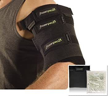 FrozenPeaz Reusable Heat/Ice Wrap - Large Single Wrap (Shin, Arm, Cramps)