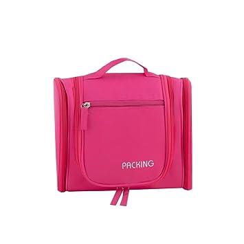 67f8e4c74e1b Amazon.com   Artlounge Travel Cosmetic Bag Hanging Toiletry Organizer Kit  with Hook Wash Bag Bathroom Storage - Large Waterproof Makeup Organizer Bag  for ...