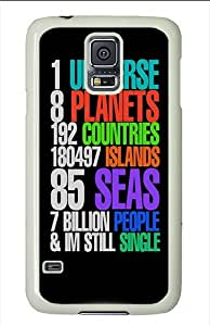 Samsung Galaxy S5 Cases and Covers - One Universe Still Single Polycarbonate Case for Samsung Galaxy S5 White