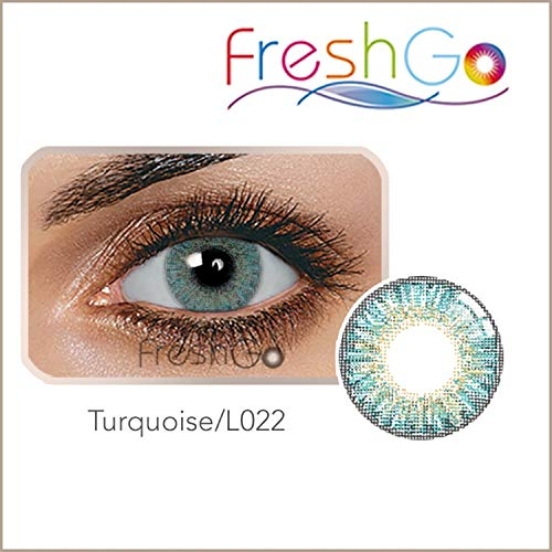 Nikkaa Multi-Color Cute Contact Lenses Color Blends Cosplay Eyes Cosmetic Makeup Eye Shadow With a Case (A Pair) for $<!--$12.99-->