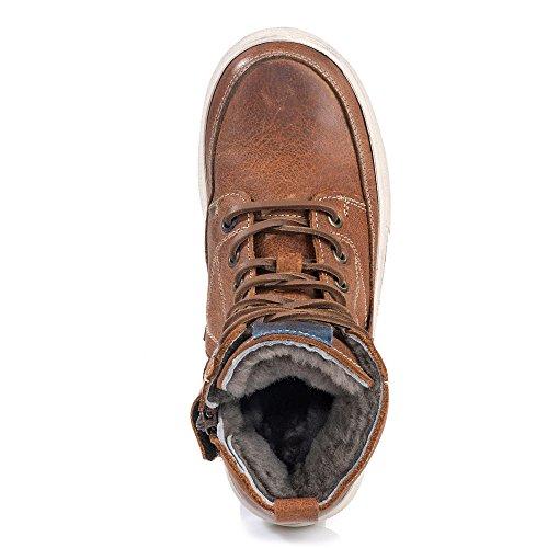 Vado RZZ | Jack | Stiefel gefüttert - braun, Farbe:braun;Größe:34