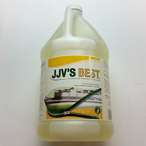 Pontoon Boat Cleaner - JJV's Best ALU100-G Aluminum Pontoon Cleaner Gallon
