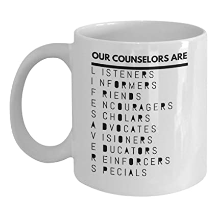4ba6121ee9f Counselor Coffee Mug - Funny Gifts for Guidance Counselors Mental Therapist  - Freud Freudian Psychology Mugs
