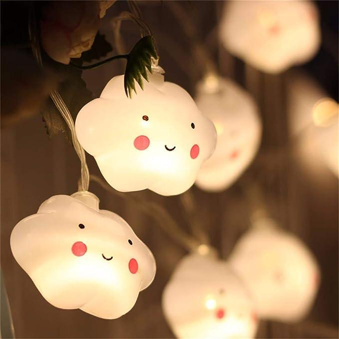 Lichterkette mit Wolkendesign