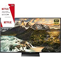 Sony XBR-65Z9D 65 4K Ultra HD LED TV with 2 Year Netflix Subscription