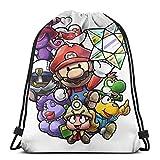 Paper Mario The Thousand Year Door Sport Bag Gym