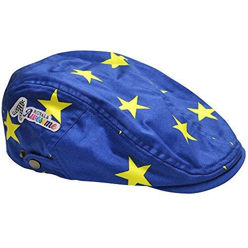 Royal & Awesome Men's Golf Hat, Eurostar, One Size