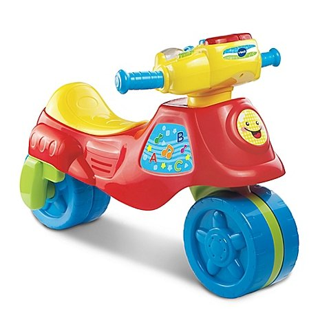 V-Tech 2-in-1 Learn and Zoom Motorbike