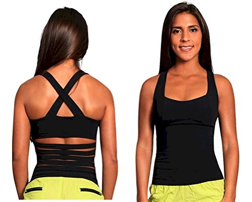 Sexy Ladder Back Activewear Top