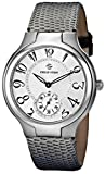 Philip Stein Women's 42-FW-ZOGR Stainless Steel Watch with Gray Leather Band