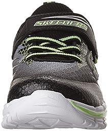 Skechers Kids Nitrate 95346L Sneaker (Little Kid/Big Kid), Black/Lime, 1.5 M US Little Kid