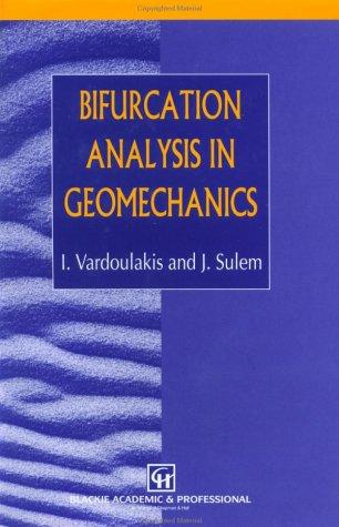 Bifurcation Analysis in Geomechanics Pdf
