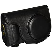 """MegaGear """"Ever Ready"""" Protective Leather Camera Case, Bag for Samsung NX Mini with 9mm Lens Kit (Black)"""